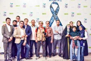 در جمع همکاران ستاد خبری جشنواره فیلم سلامت - شهریور 97